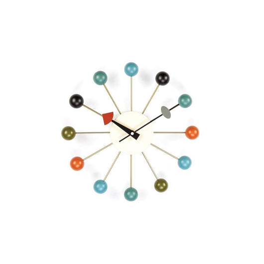 Ball Clock Multi-Colored