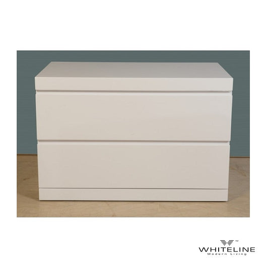 Whiteline Anna Nightstand