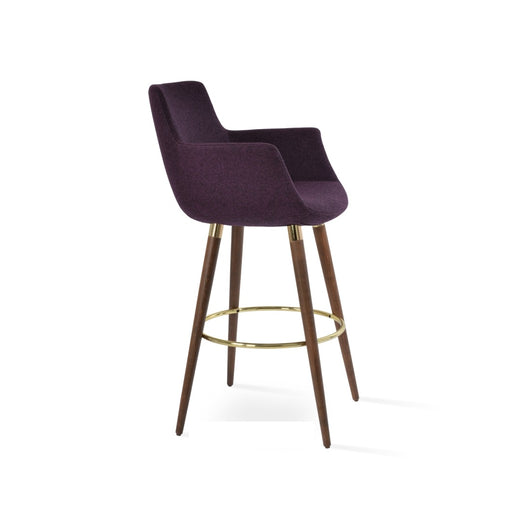 Sohoconcept  Bottega Wood Bar Stool