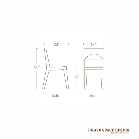 Brave Space Hollow Dining Chair