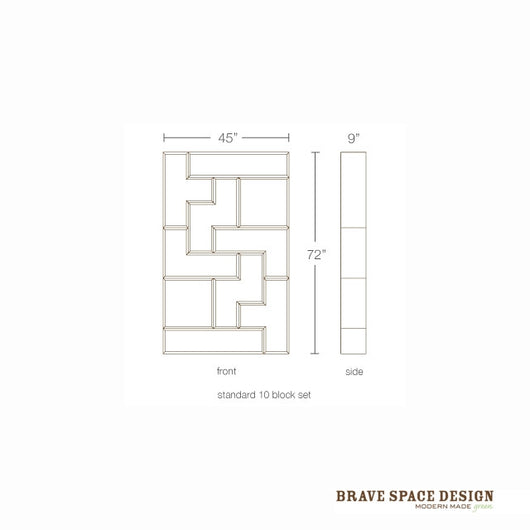 Brave Space Tetrad Bamboo Set