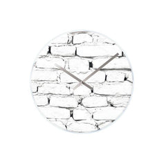 Karlsson Brick Glass Clock
