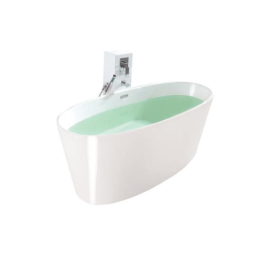 Control Brand Vinyasa True Solid Surface Soaking Tub