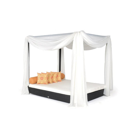 Caluco Dijon Double Bed with Canopy - Sunbrella A