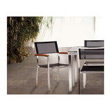Caluco Metropolis Dining Arm Chair