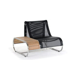 Caluco Metropolis Curved Chair with Table