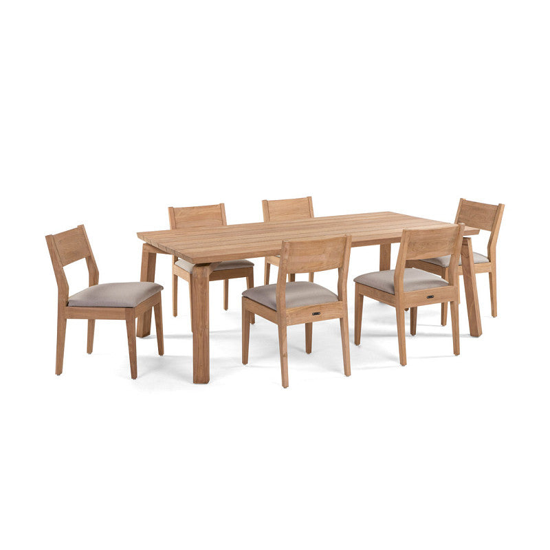 ... Caluco Sixty Dining Rectangle Table