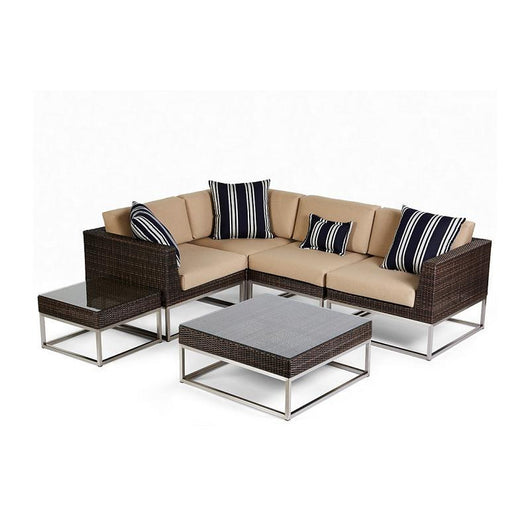 Caluco Mirabella Sectional Middle Chair - Sunbrella A