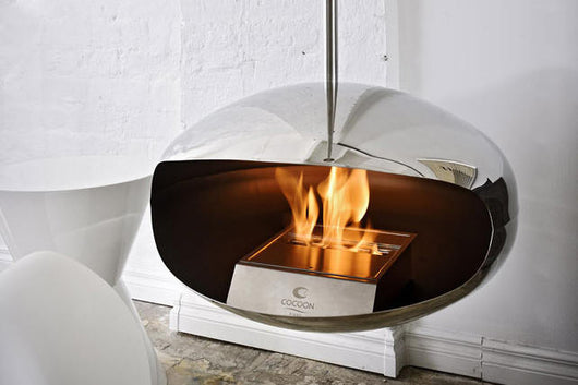 Cocoon Fires Aeris Stainless Steel