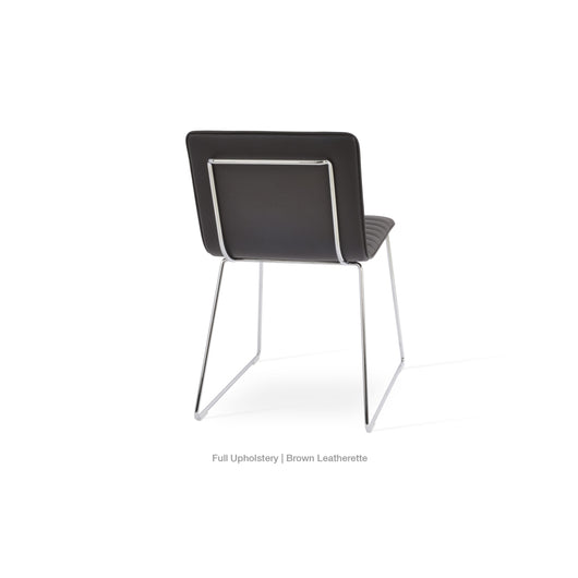 Sohoconcept Corona Wire Upholstered  Chair