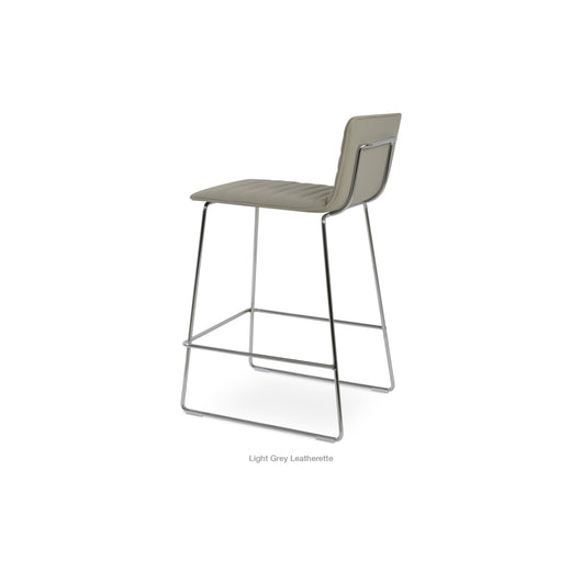 Sohoconcept Corona Wire Counter Stool - Upholstered