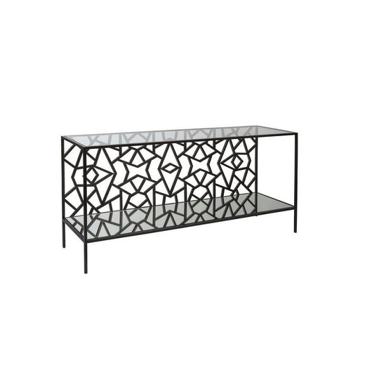 Allan copley cracked ice console table