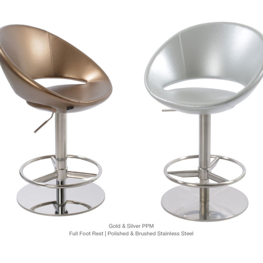 Sohoconcept Crescent Piston Stool