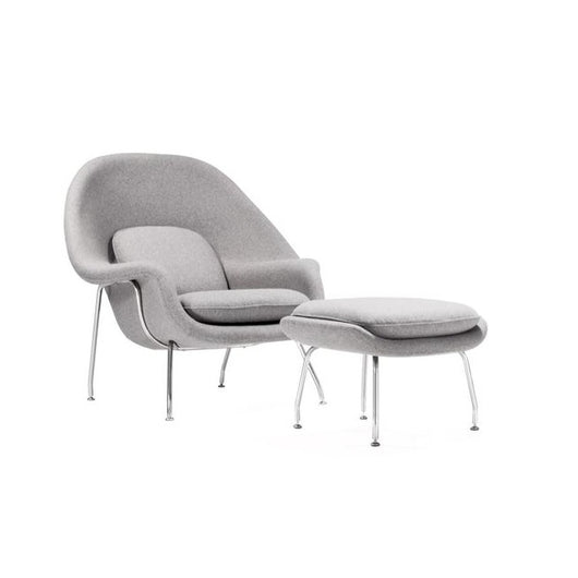 Stilnovo Womb Chair with Ottoman