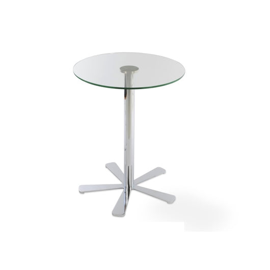 Daisy Bar Table - Glass