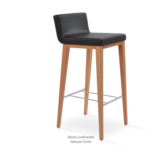 Sohoconcept Dallas PL Wood Bar Stool