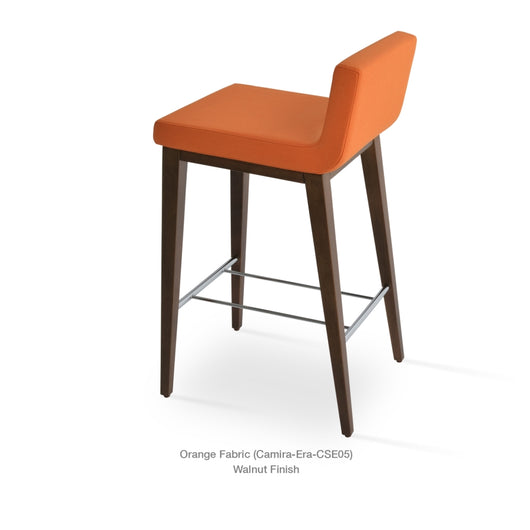 Sohoconcept Dallas Wood Counter Stool