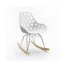 Kubikoff Diamond Dimple Hole Rocker Chair