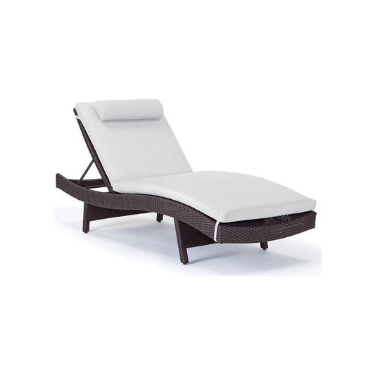 Caluco Dijon Curved Single Chaise - Sunbrella A