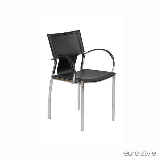 Euro Style Vinnie Arm Chair - Set of 2