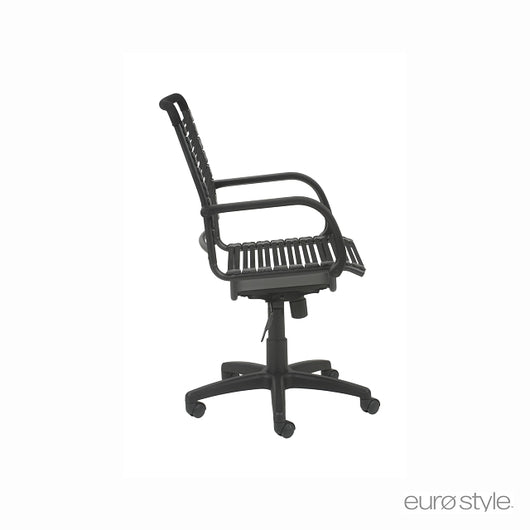 Euro Style Bungie Flat High Back Office Chair