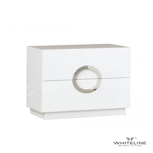 Whiteline Eddy Nightstand - Small