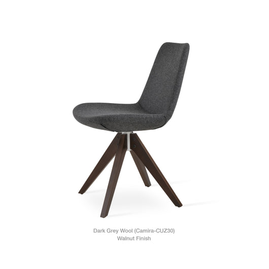 Sohoconcept Eiffel Pyramid Swivel Chair