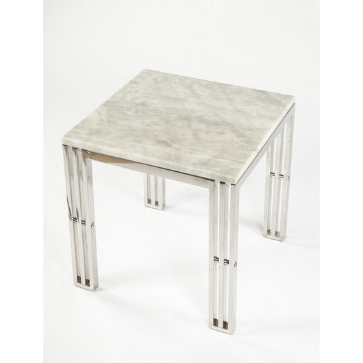 Control Brand Carrara Marble Side Table