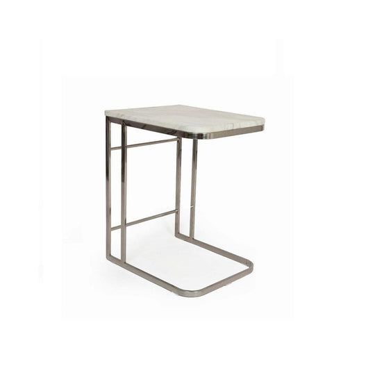 Control Brand C Carrara Marble Side Table