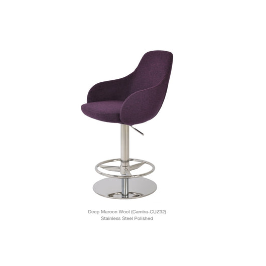 Sohoconcept Gazel Arm Piston Stool
