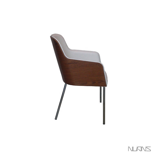 Nuans Hudson Dining Chair - Steel Legs