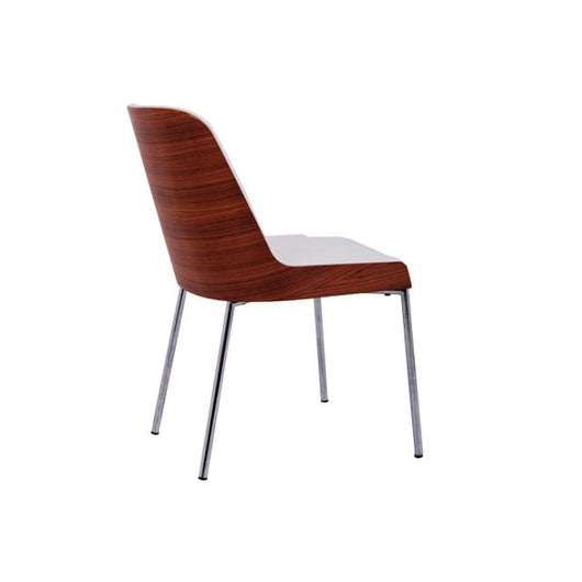 Nuans Hudson Side Chair - Steel Legs