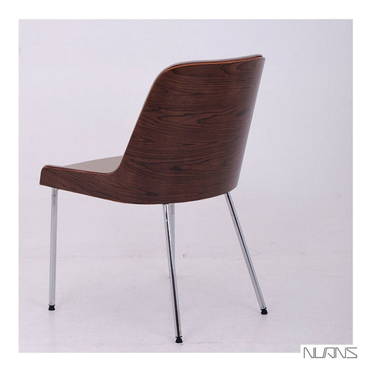 B&T  Hudson Side Chair - Steel Legs