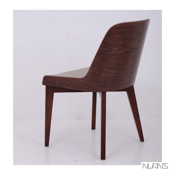 Nuans Hudson Side Chair - Wood Legs