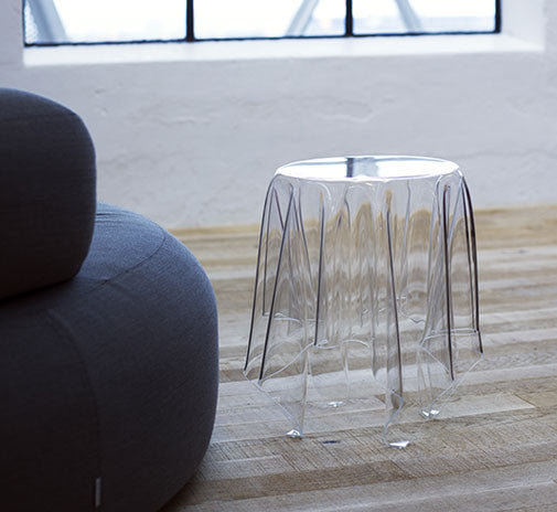 ... Essey Illusion Side Table   Clear ... Amazing Design
