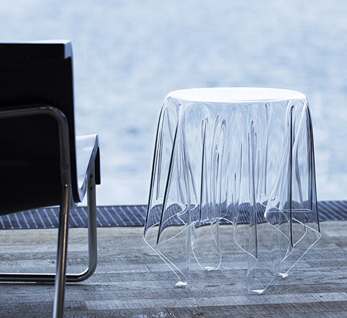 Essey Illusion Side Table - Clear