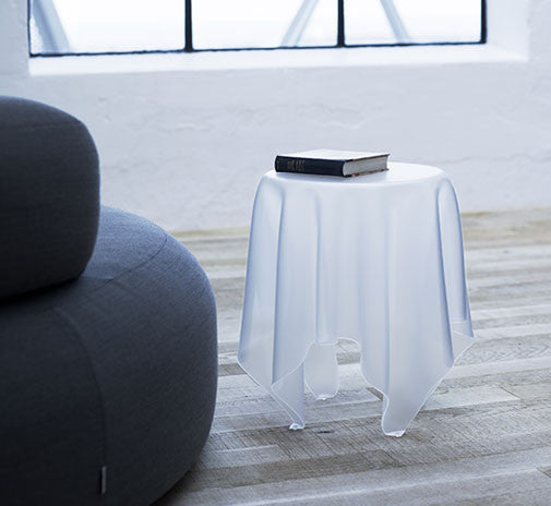 Lovely Essey Illusion Side Table   Ice White U2013 2bmod Idea