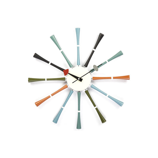 Stilnovo Spindle Clock - Color