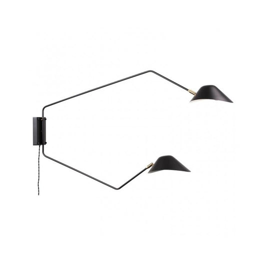 Mussla Two Arm Wall Lamp