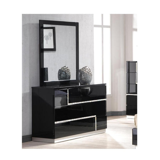 J&M Furniture Lucca Dresser and Mirror