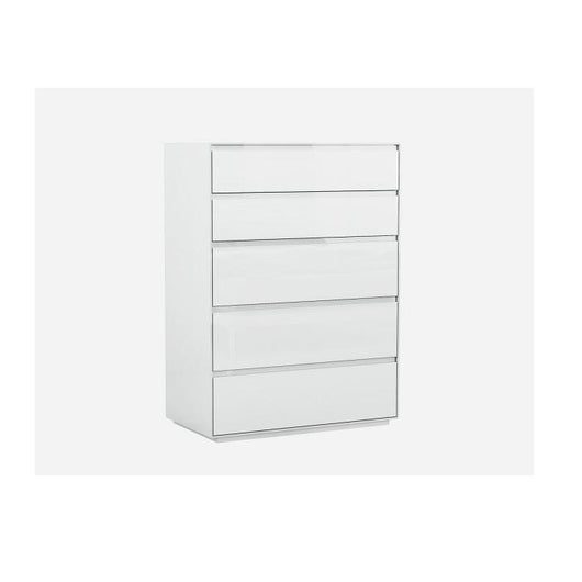 Whiteline Malibu Chest of Drawers