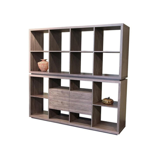 Sohoconcept Malta Bookcase with Drawers