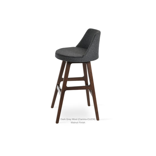Sohoconcept Martini Wood PR Counter  Stool