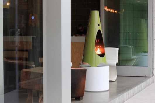 Modfire Urbanfire with Modpad Outdoor Fireplace