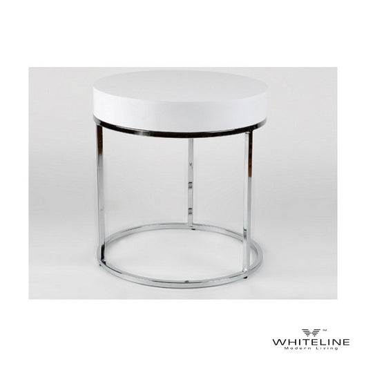 Whiteline Mog Side Table