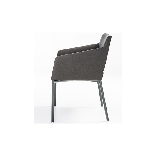 B&T Noble Dining Chair - Metal Base