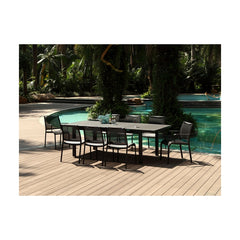 Alum Outdoor Extendable Dining Table