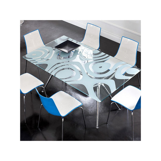 Euro Style Zebra Dining Chair - Set of 4