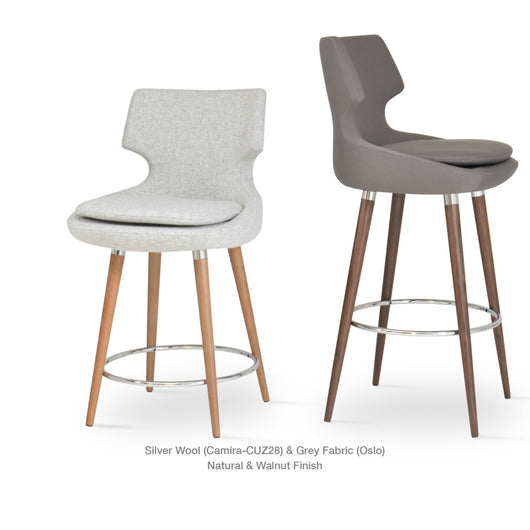 Sohoconcept Patara Wood Bar Stool