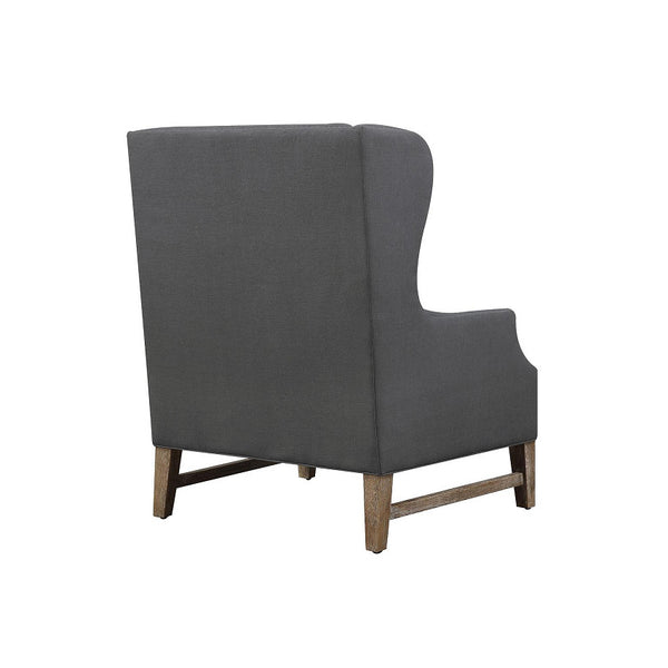 TOV Devon Linen Wing Chair